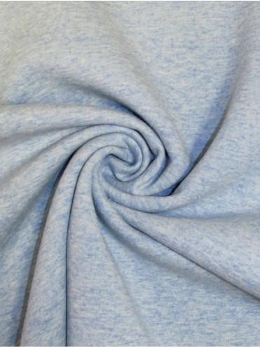 Футер Голубой меланж 3-нитка с начесом