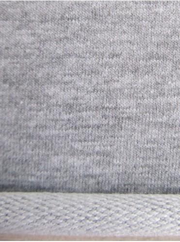Футер Серый меланж, комп. к Сказочным цветам, изнинка петля с п/э