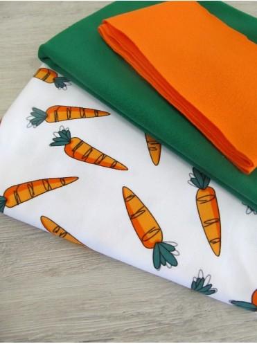 Интерлок Морковка