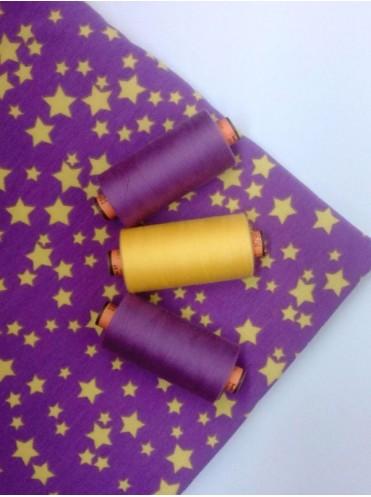 Нитки Фиолетовый 575 AMANN belfil-S 120, 1000 м