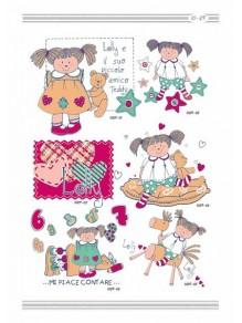 Термотрансфер 10-29 Куклы