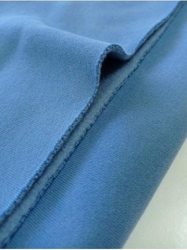 Футер 3 н начес Синяя сталь, с велюр эффектом