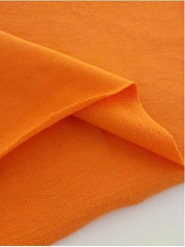 Футер Оранжевый, 2 нитка с/л, петля