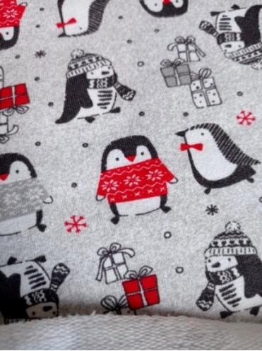 Футер Пингвинчики в красном (Польша)