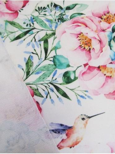 Футер Колибри/Цветы - 0,6 м