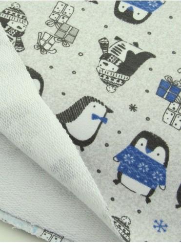 Футер Пингвинчики в синем (Польша)