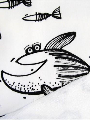 Футер Рыбки на молочном фоне (Польша)