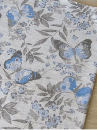 Кулирка Бабочки на голубом меланже (Польша)