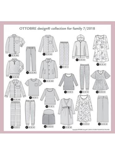 ПРЕДЗАКАЗ - Ottobre Family № 7/2018 РУС. - ОТПРАВКА 1 - 5 ДЕКАБРЯ