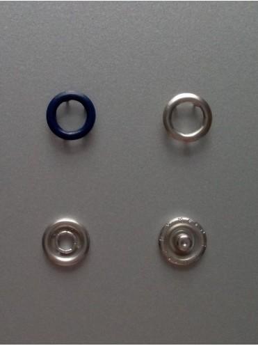 Кнопки PRYM Т.Синие 9,5 мм., (набор 10 шт.)