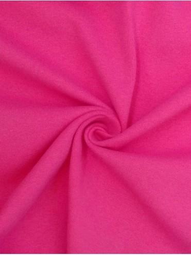 Рибана Ярко-Розовая с лайкрой - 0,5 м